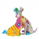 La Belle et le Clochard by Britto Statue Enesco