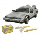 "DeLorean ""Retour vers le Futur II"" 1/15 Scale Iced Version Time Machine Diamond Select Toys"