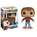 Marty McFly (on Hoverboard) Exclusive POP! Movies Figurine Funko