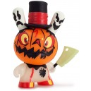 Jack O' Lantern The 13 Dunny Series 1/20 Brandt Peters 3-Inch Figurine Kidrobot