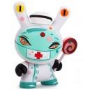 Nurse Casket The 13 Dunny Series 3/80 Brandt Peters 3-Inch Figurine Kidrobot