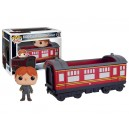 Hogwarts Express Carriage with Ron Weasley POP! Rides Figurine Funko