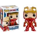 Iron Man Unmasked - Captain America: Civil War POP! Marvel Bobble-head Funko