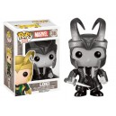 Loki with Helmet (B/W) exclusive POP! Marvel Figurine Funko