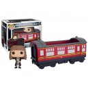Hogwarts Express Carriage with Hermione Granger POP! Rides Figurine Funko