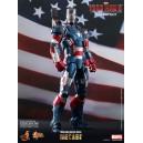 Iron Patriot DIECAST Movie Masterpiece Series Figurine 1/6 Hot Toys