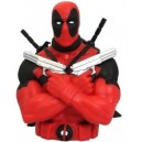 Deadpool Bust Money Bank Monogram