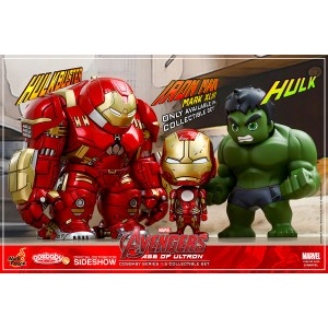 Collectible Set - Avengers: AOU Cosbaby Series 1.5 Vinyl Collectible Hot Toys