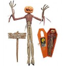 "Pumpkin King Jack Limited Edition 16"" Coffin Doll Diamond Select Toys"