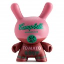 Red Campbell's Soup Andy Warhol Dunny Series 3-Inch Figurine Kidrobot
