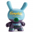 Blue Campbell's Soup Andy Warhol Dunny Series 3-Inch Figurine Kidrobot