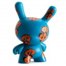 Blue Dollar Signs 3/40 Andy Warhol Dunny Series 3-Inch Figurine Kidrobot