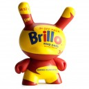 Yellow Brillo 1/20 Andy Warhol Dunny Series 3-Inch Figurine Kidrobot