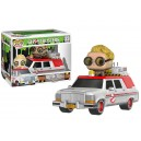 Ecto-1 with Jillian Holtzmann POP! Rides Figurine Funko