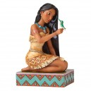 Free and Fierce (Pocahontas with Flit) Disney Traditions Enesco