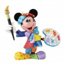 Mickey Mouse Painter by Britto Statue Enesco