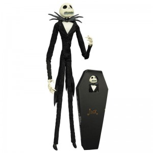 """Jack Skellington Coffin Doll Unlimited Edition 16"""" Doll Diamond Select Toys"""