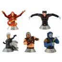 Lot 5 Bustes X-Men 3 Diamond Select Toys