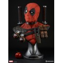 ACOMPTE 10% précommande Deadpool Life Size Buste Sideshow
