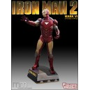 Iron Man 2 Clean Life Size Statue Oxmox