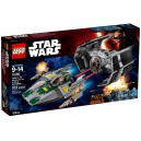Vader's TIE Advanced vs. A-wing Starfighter™ 75150 LEGO®