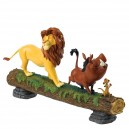 Hakuna Matata (Simba, Pumbaa & Timon) Disney Showcase Enesco