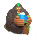 Fujisan Bigfoot Brown Version Vinyl Toy Figurine Dragatomi