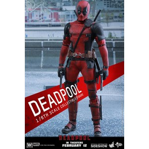 Deadpool Figurine 1/6 Hot Toys
